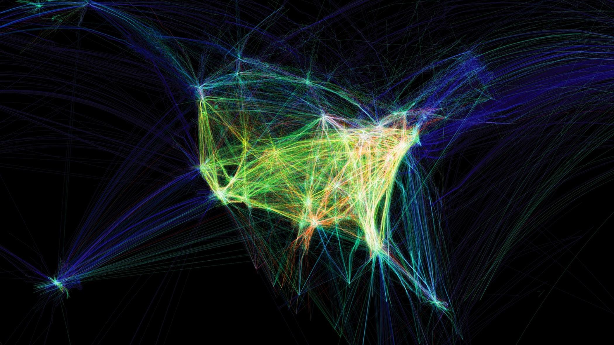 2011.275 Aaron Koblin Flight Patterns
