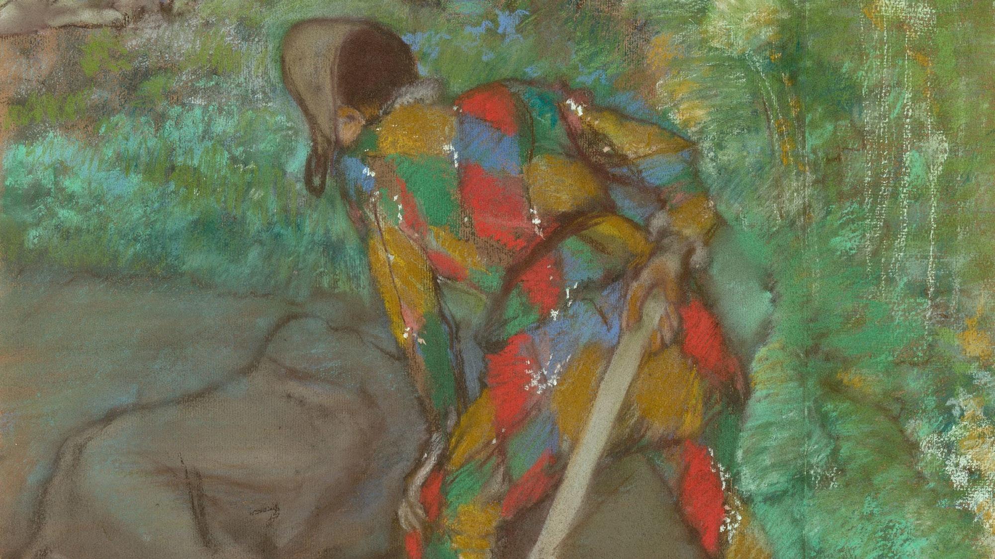 1962.74 Degas Harlequin