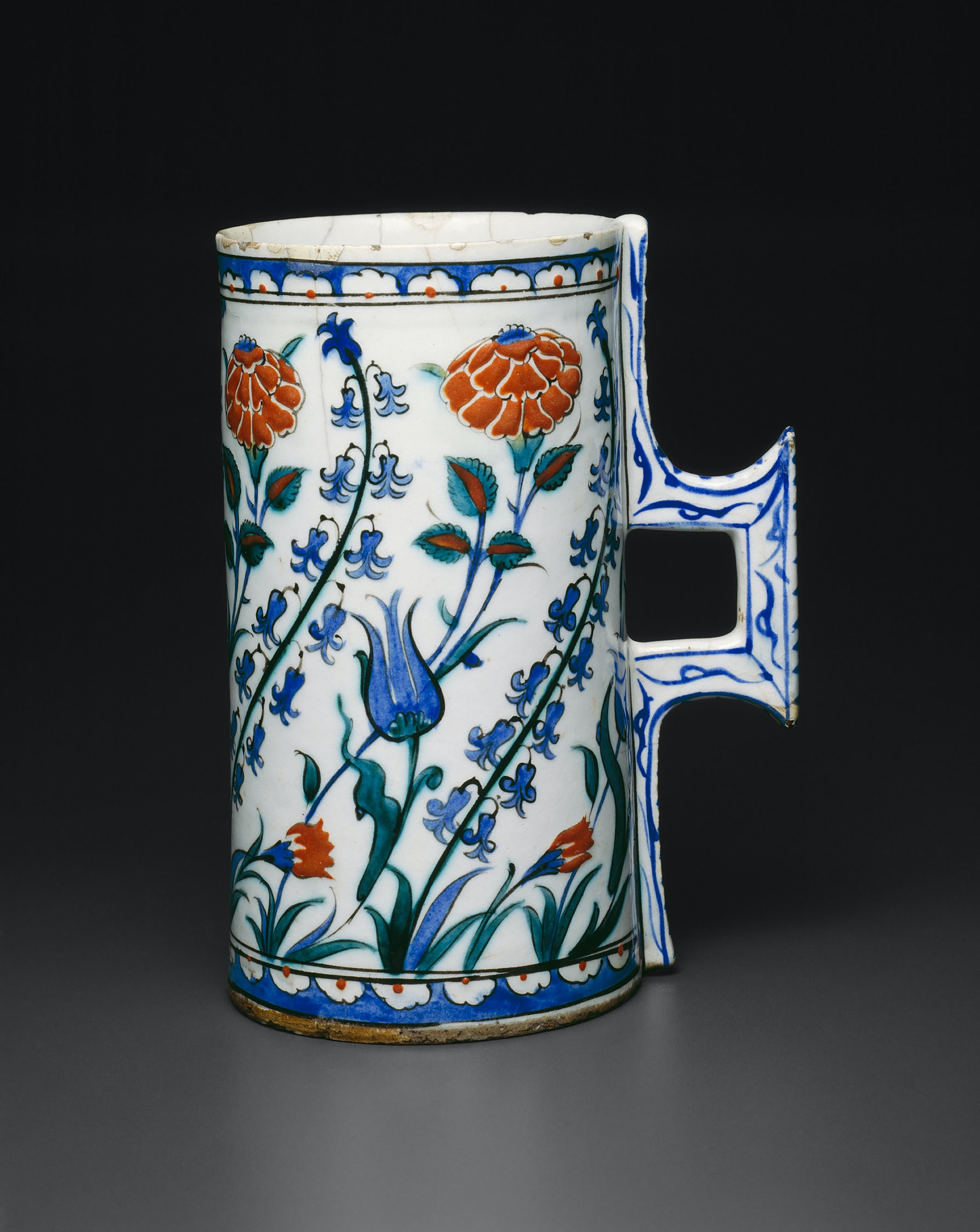Tankard Hanap With Tulips
