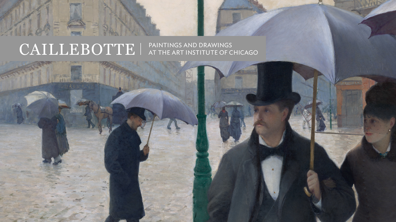 Caillebotte Paintings and Drawings at the Art Institute of Chicago