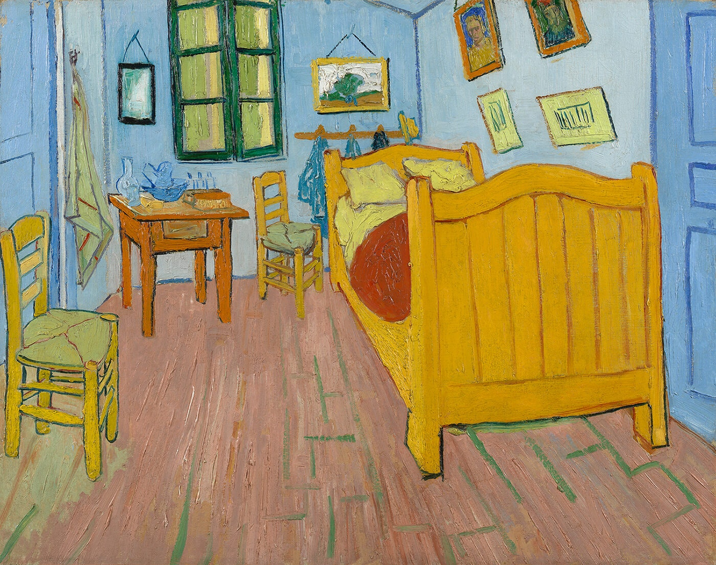 Vangogh Bedroom 1888 Vangoghmuseumamsterdam 1400