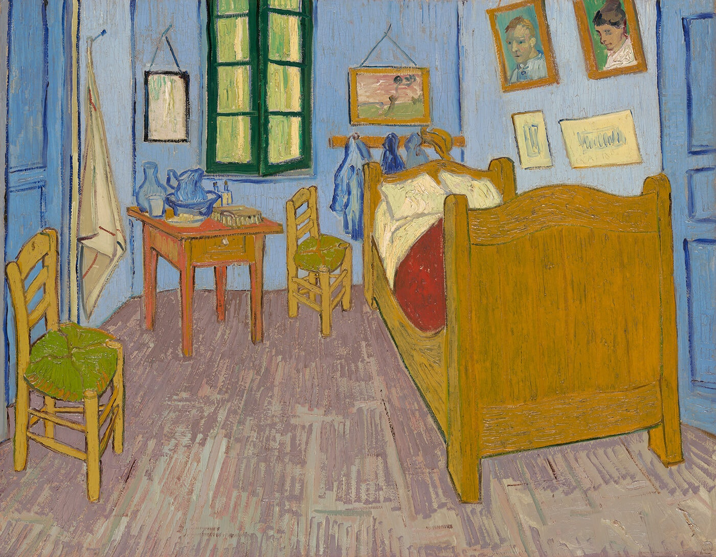 Vangogh Bedroom 1889 Museedorsayparis 1400