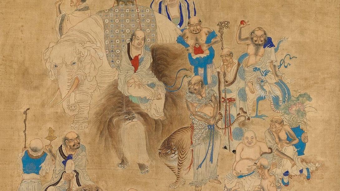 1954.384 Bathing Of The Buddha Festival Hua Ziyou
