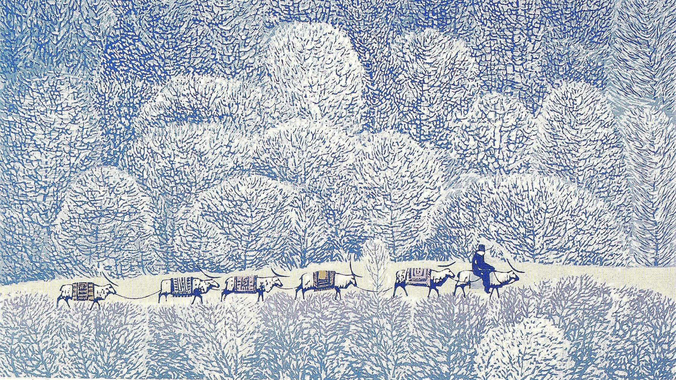 2004.213 Zhou Shenghua The Winter Journey