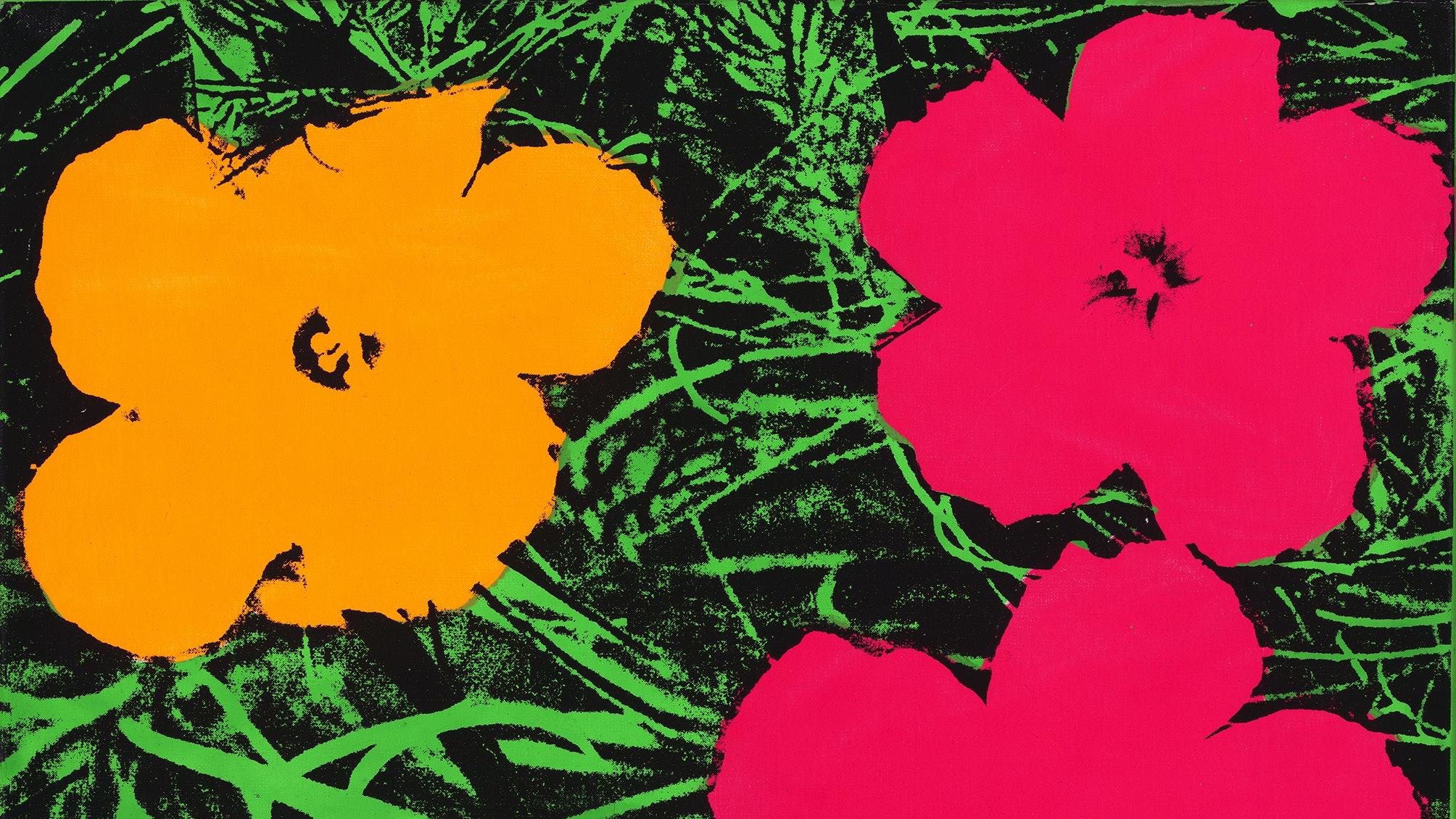 Andy Warhol Flowers 1964