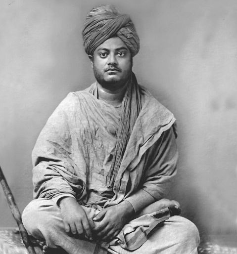 Swami Vivekananda as young man in  Jaipur