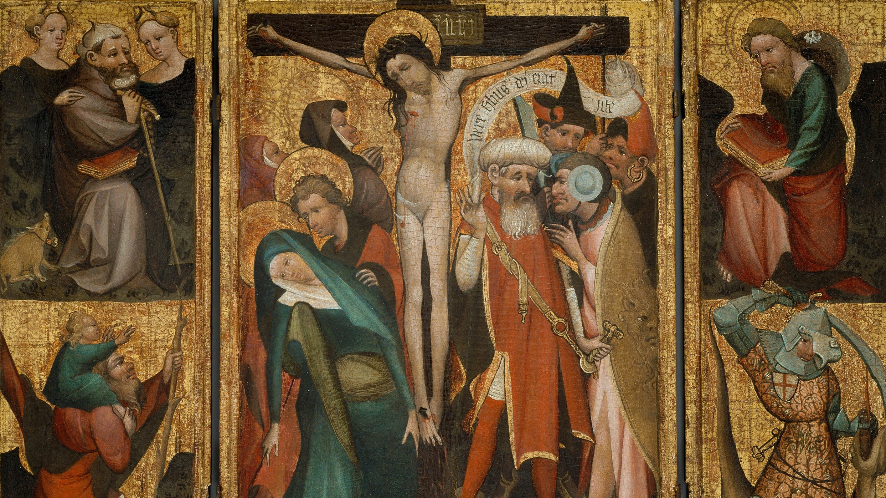 1947.394 Triptych Of The Crucifixion