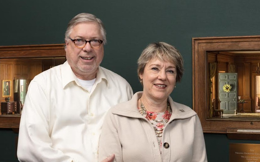 Portrait of Donors TIMOTHY HALL and CATHY WITT