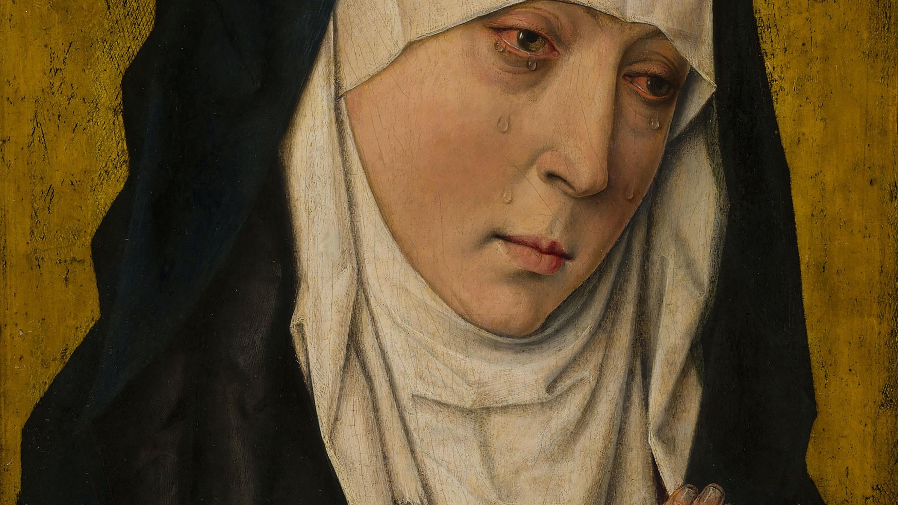 Mater Dolorosa Sorrowing Virgin