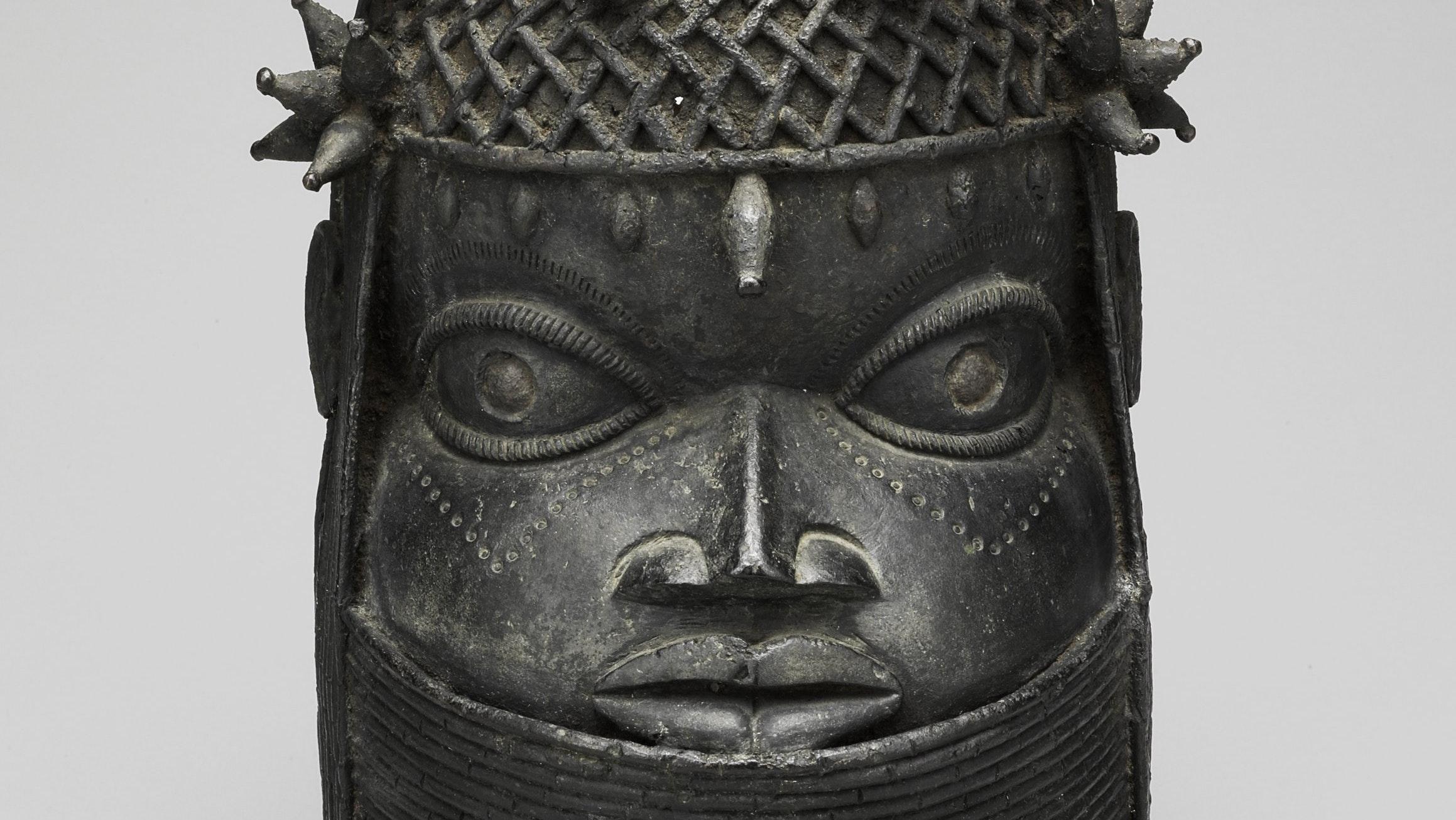 2003.16 Edo Altar Head For An Oba