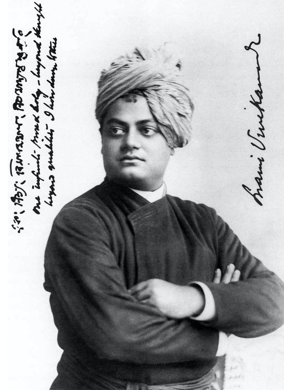 Swami Vivekananda in 1893