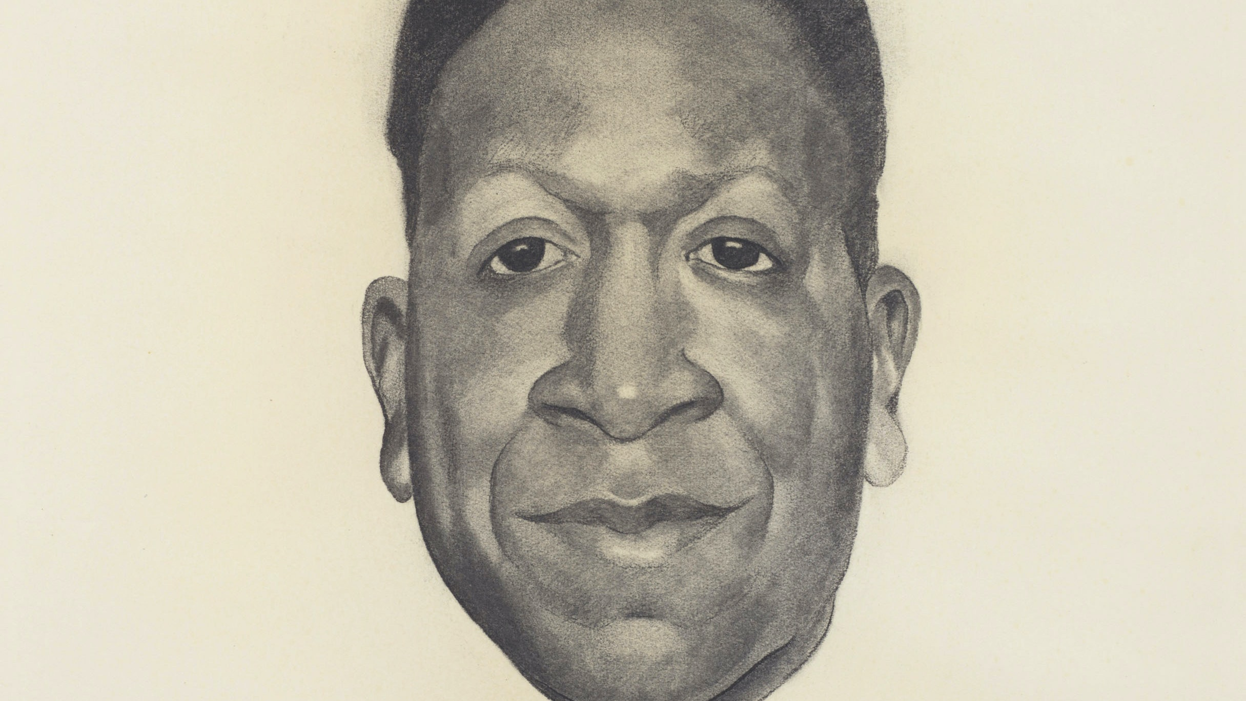 Georgia O'Keeffe.  Beauford Delaney, 1943. Harry B. and Bessie K. Braude Memorial Fund.