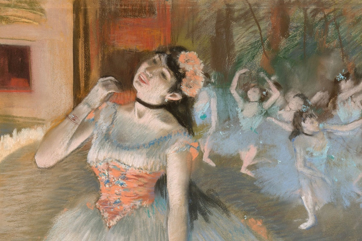 Image result for The Impressionist Pastel - The Art Institute of Chicago