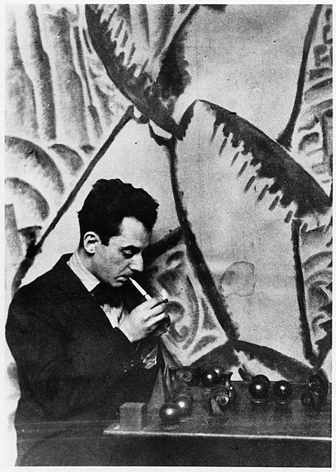 Man Ray Self Portrait 1921