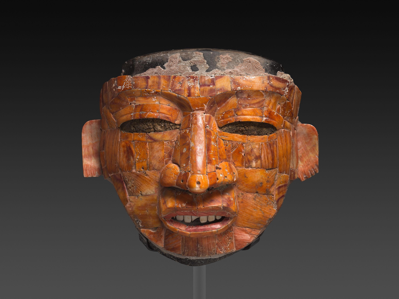 Shell Mosaic Ritual Mask