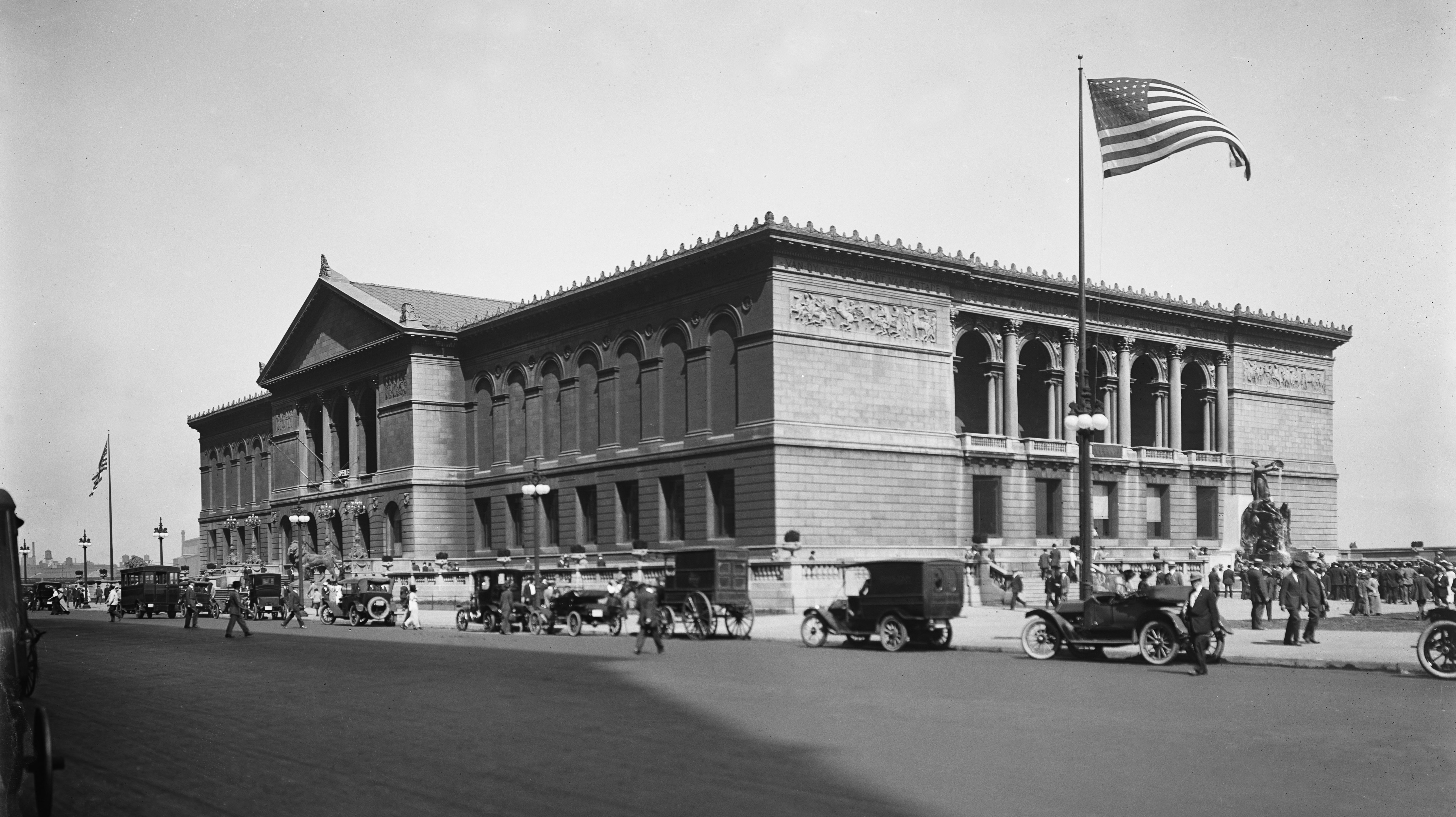 Archival image of the Art Institute of Chicago