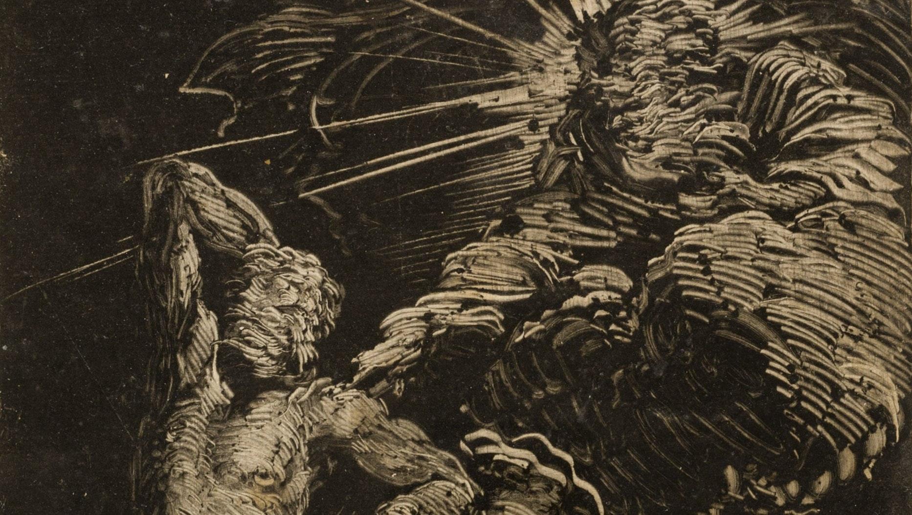 1985.1113 Giovanni Benedetto Castiglione The Creation Of Adam