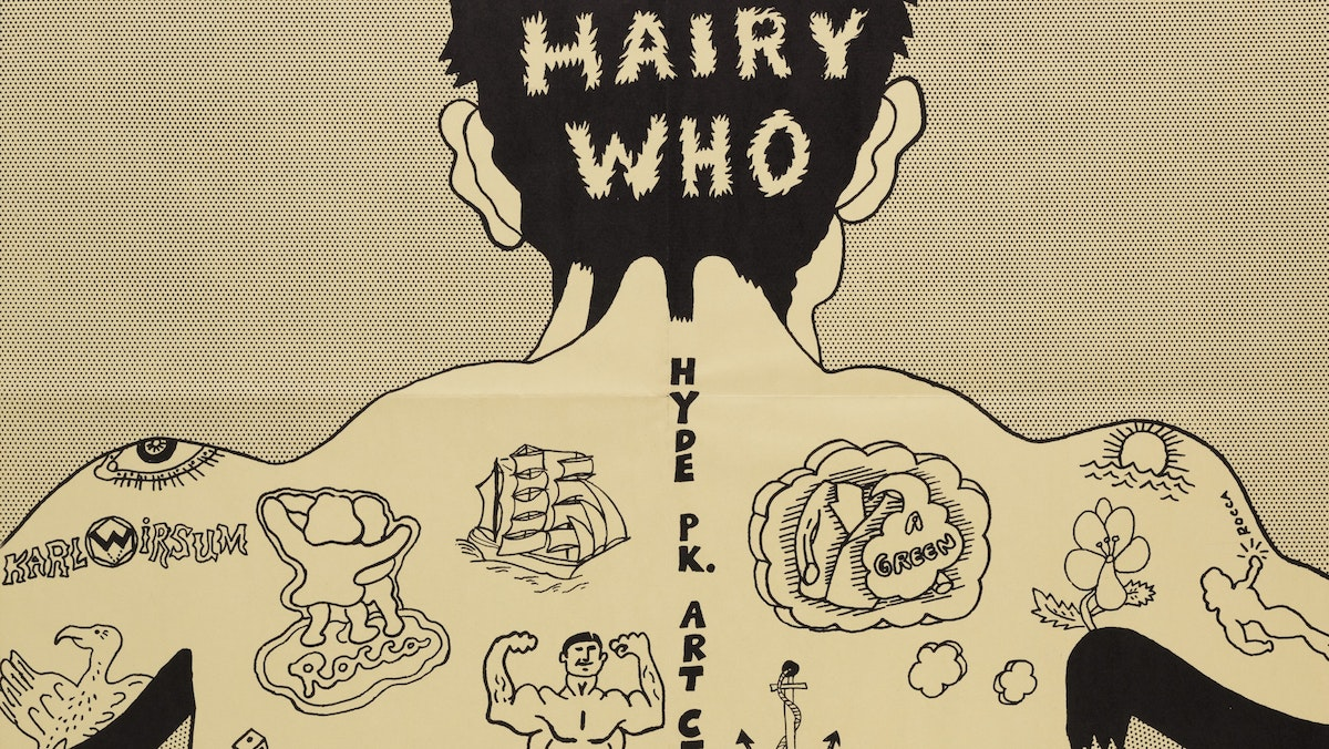 Lecture: Hairy Who? 1966-1969