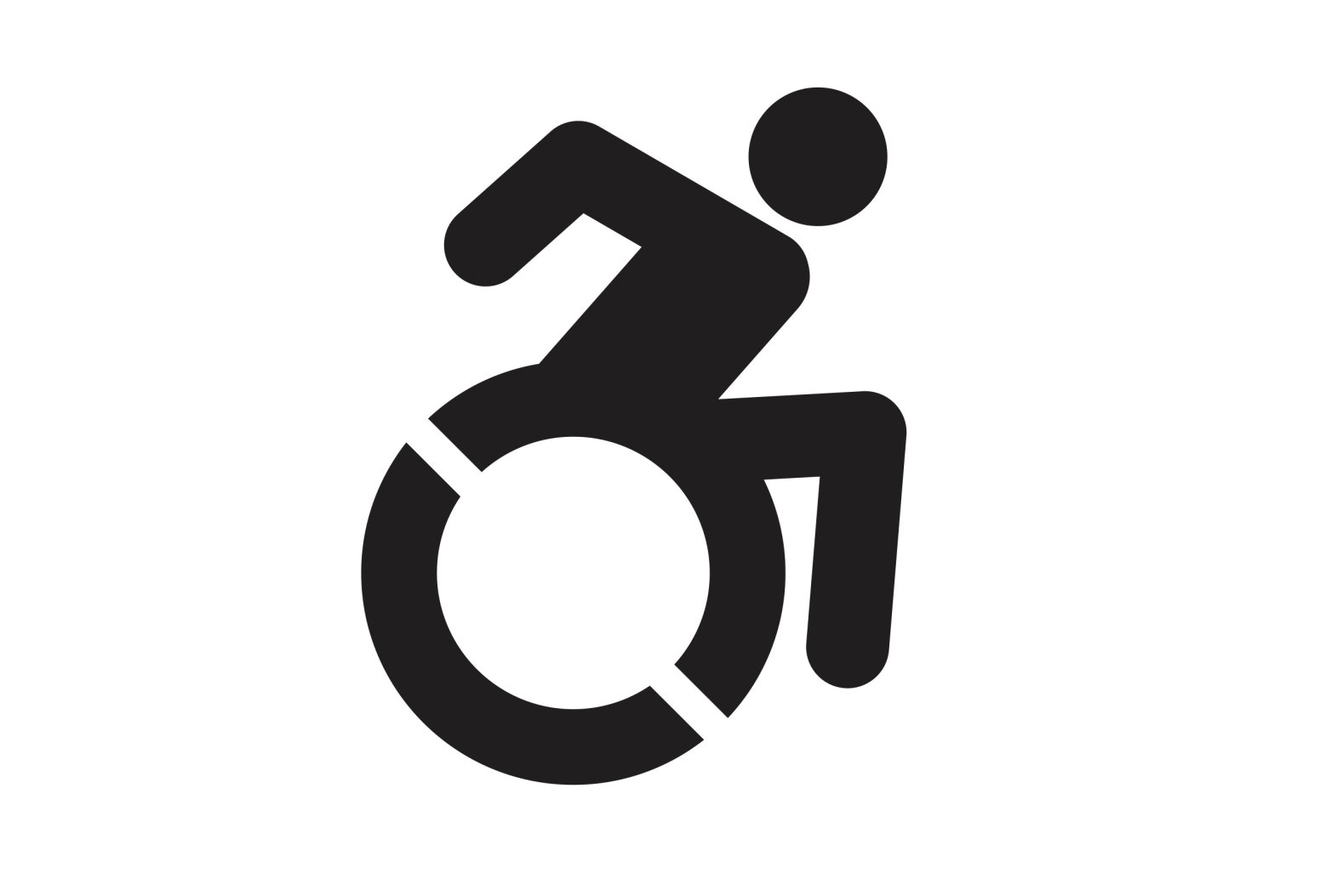 Wheelchair Active From Accessible icon Org