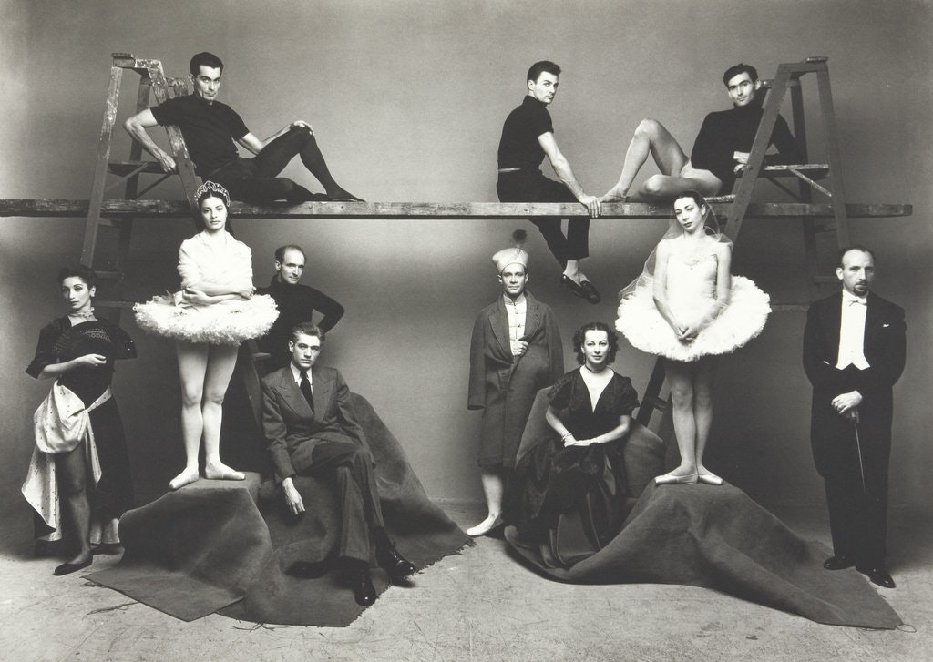 Irving Penn (American, 1917-2009) Ballet Theatre, Restricted gift of Mrs. Leigh B. Block