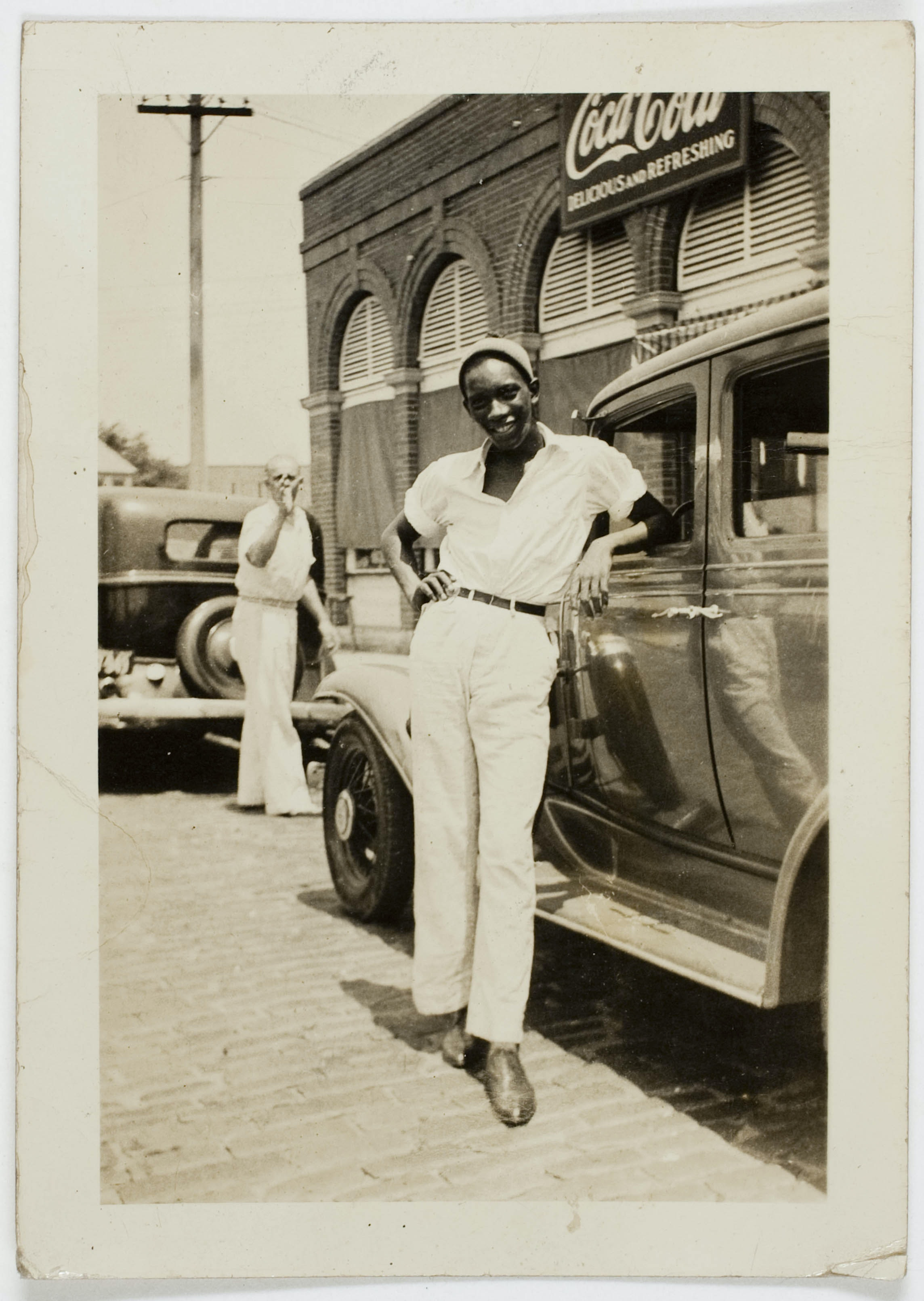 Untitled photo of young black man from Peter Cohen collection