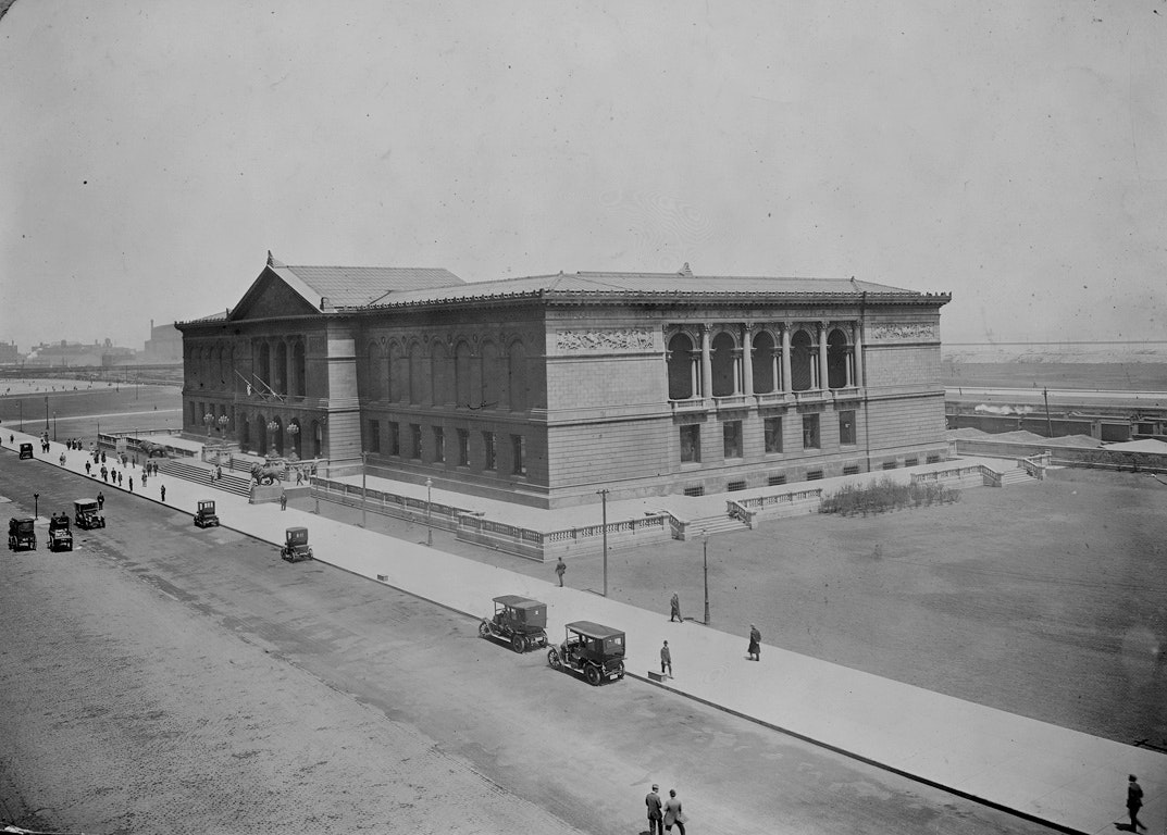 Photo of Art Institute around  1910