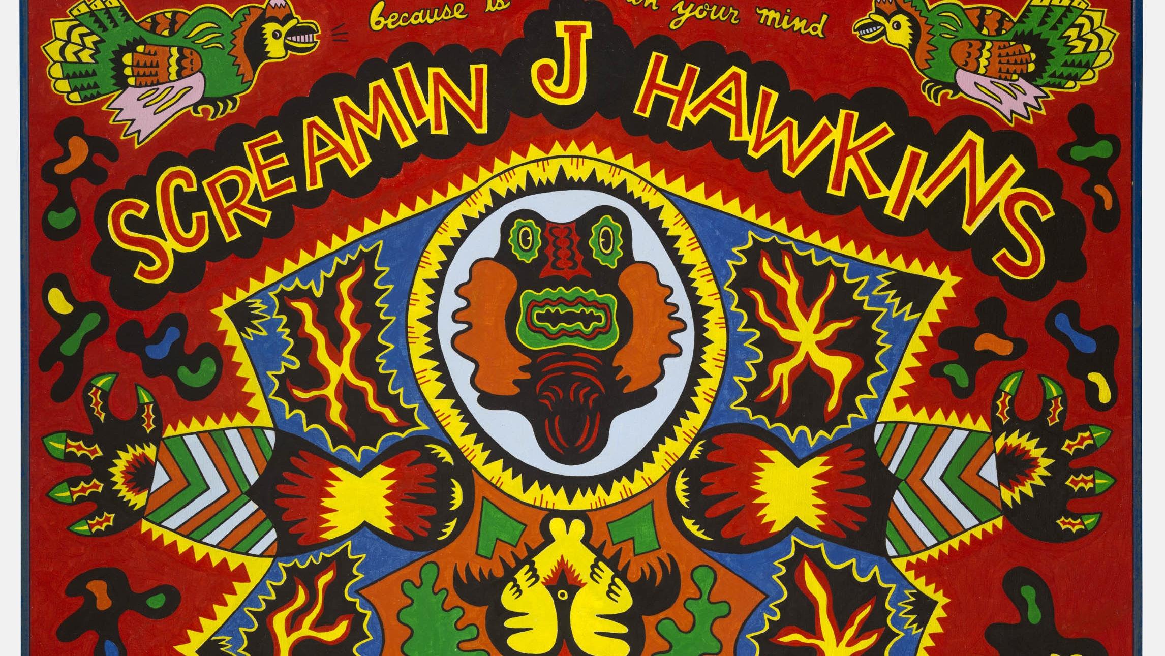 Karl Wirsum. Screamin' Jay Hawkins, 1968