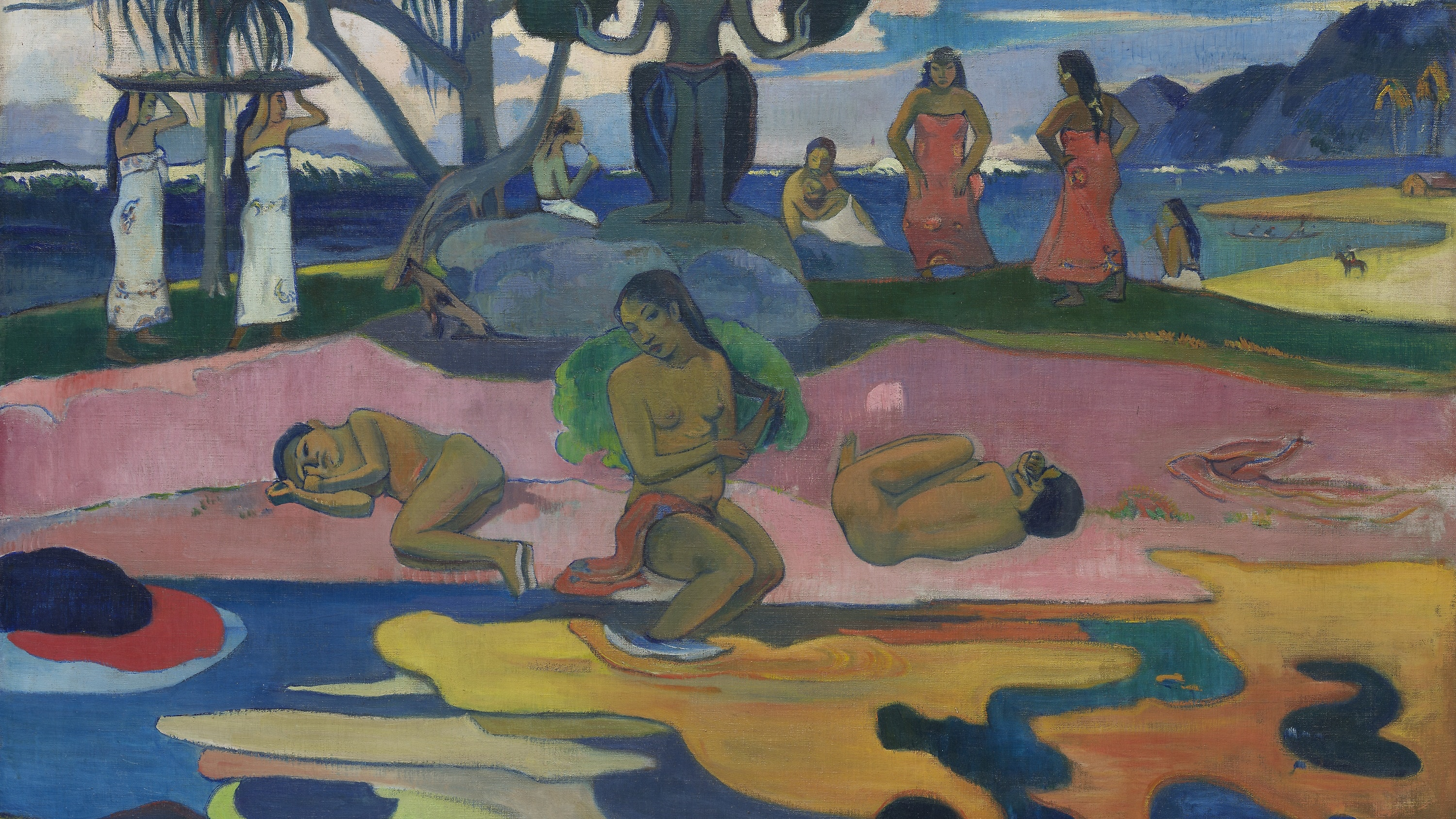 """Mahana No Atua Day Of The God"" by Paul Gauguin"