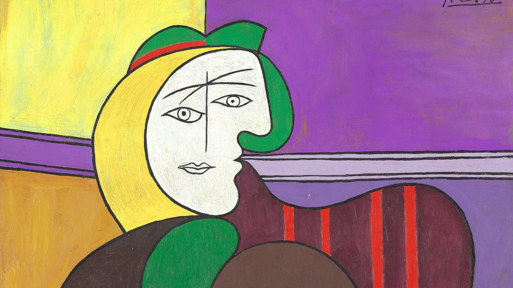 1957.72 The Red Armchair Picasso