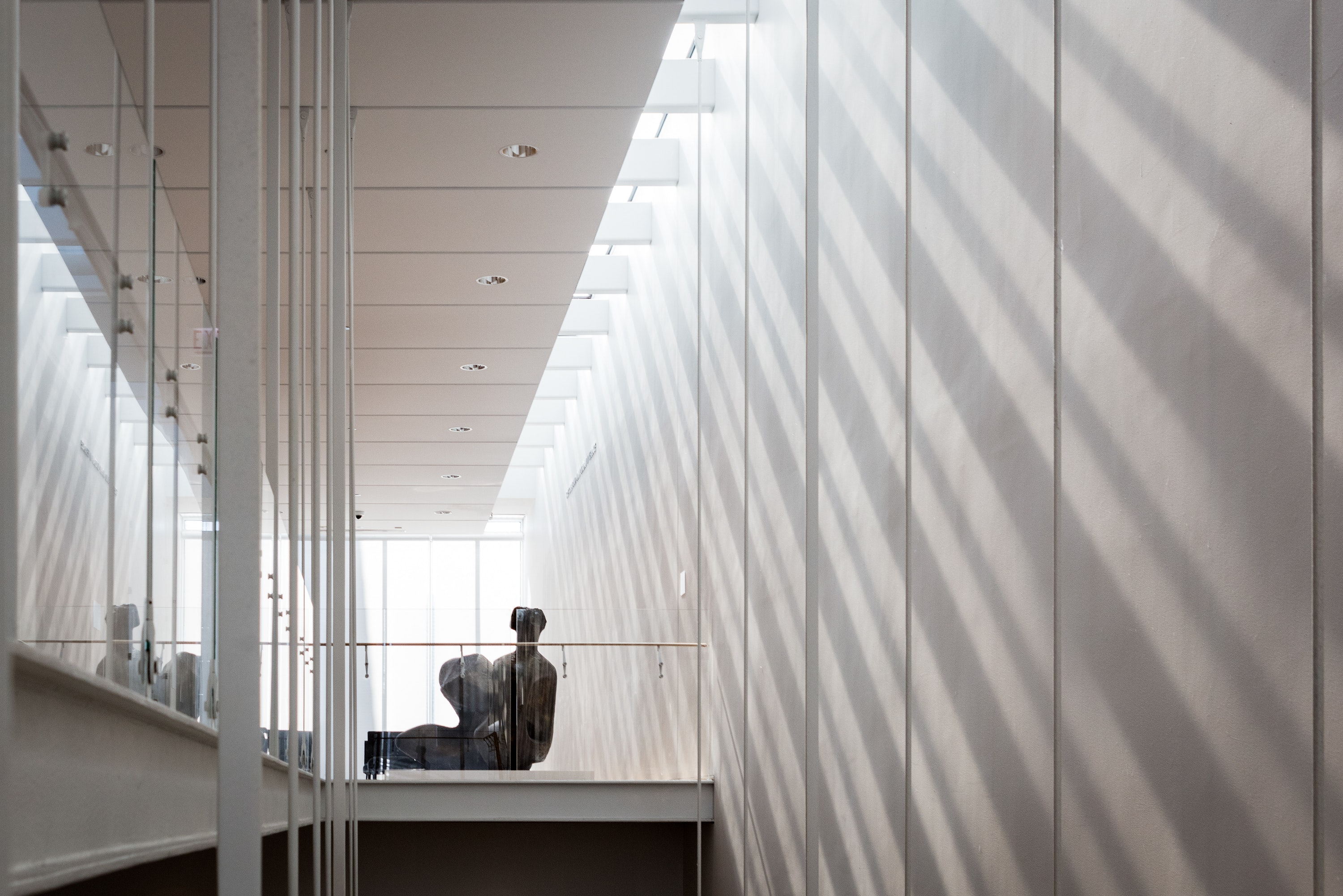 Shadows and light in the modern wing