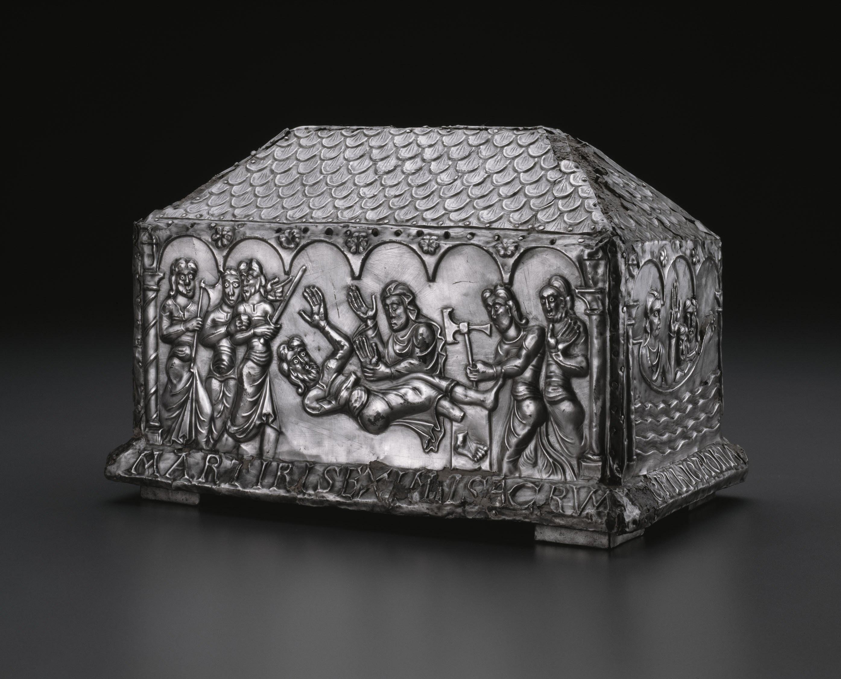 1943.65 Leon Spainish Reliquary Casket Of Saints Adrian And Natalia