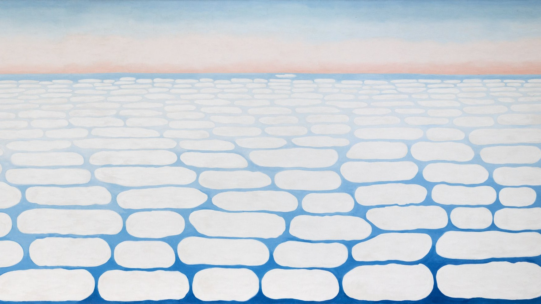 1983.821 Georgia Okeeffe Sky Above Clouds