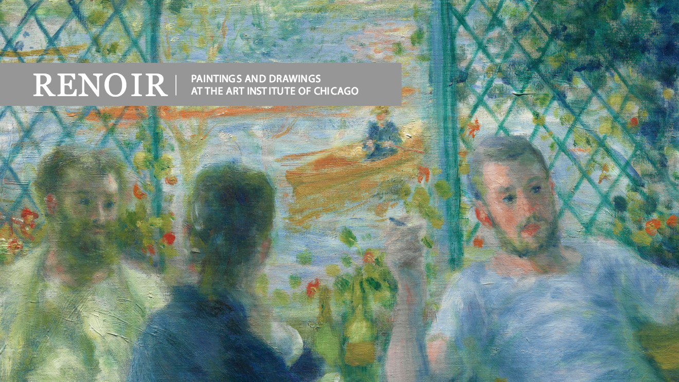 Renoir Paintings and Drawings at the Art Institute of Chicago