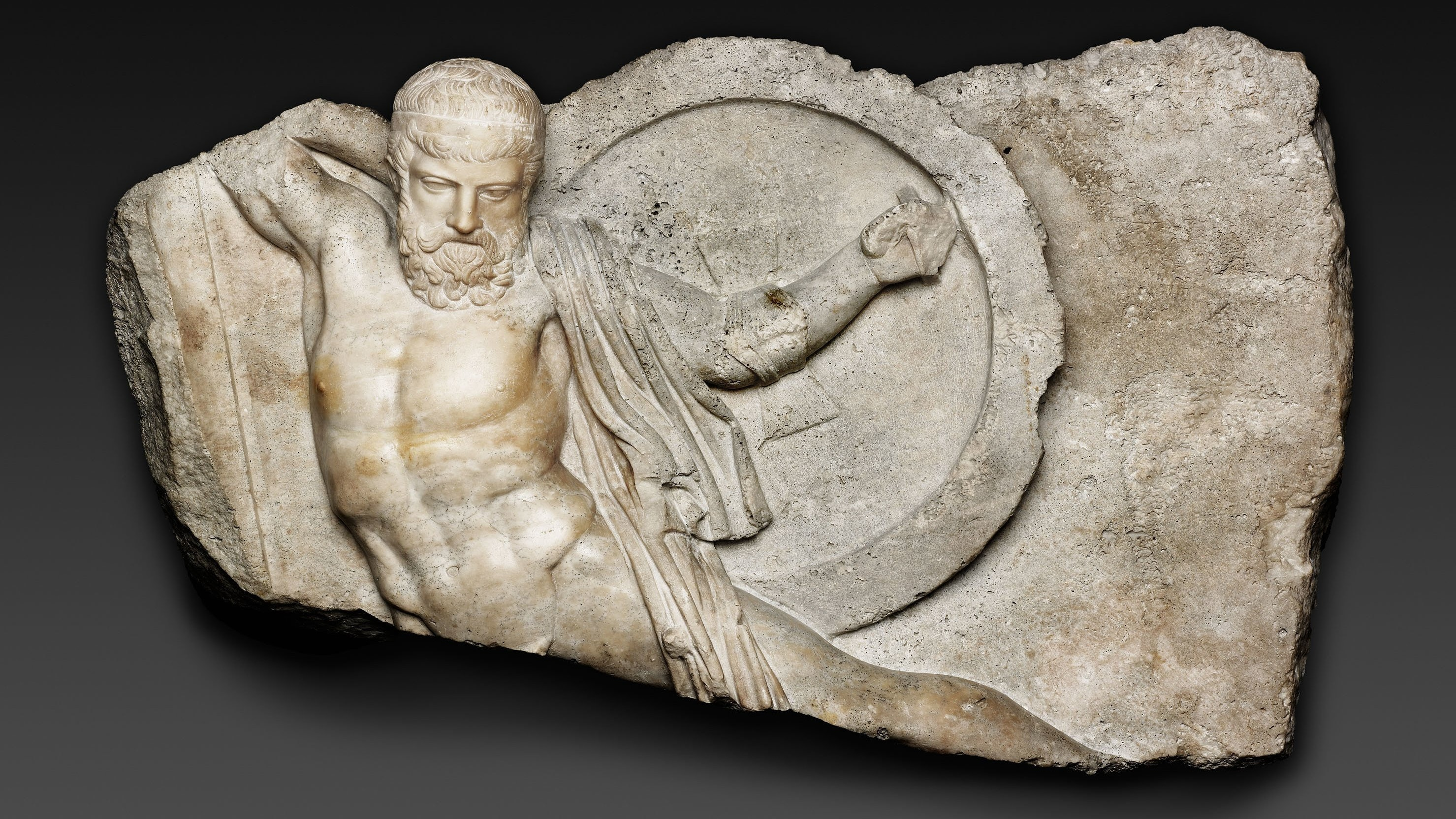 1928.257 Relief Of A Falling Warrior