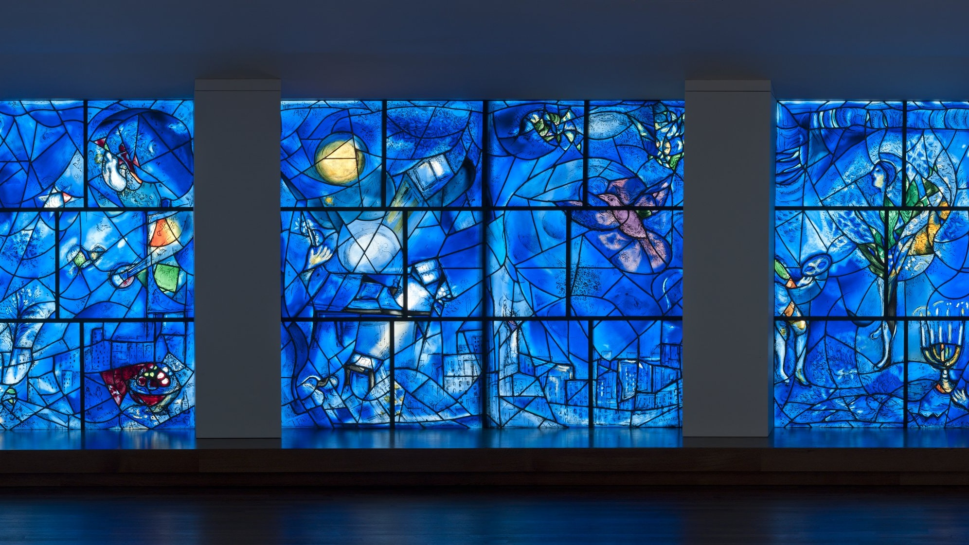 Chagall America Windows