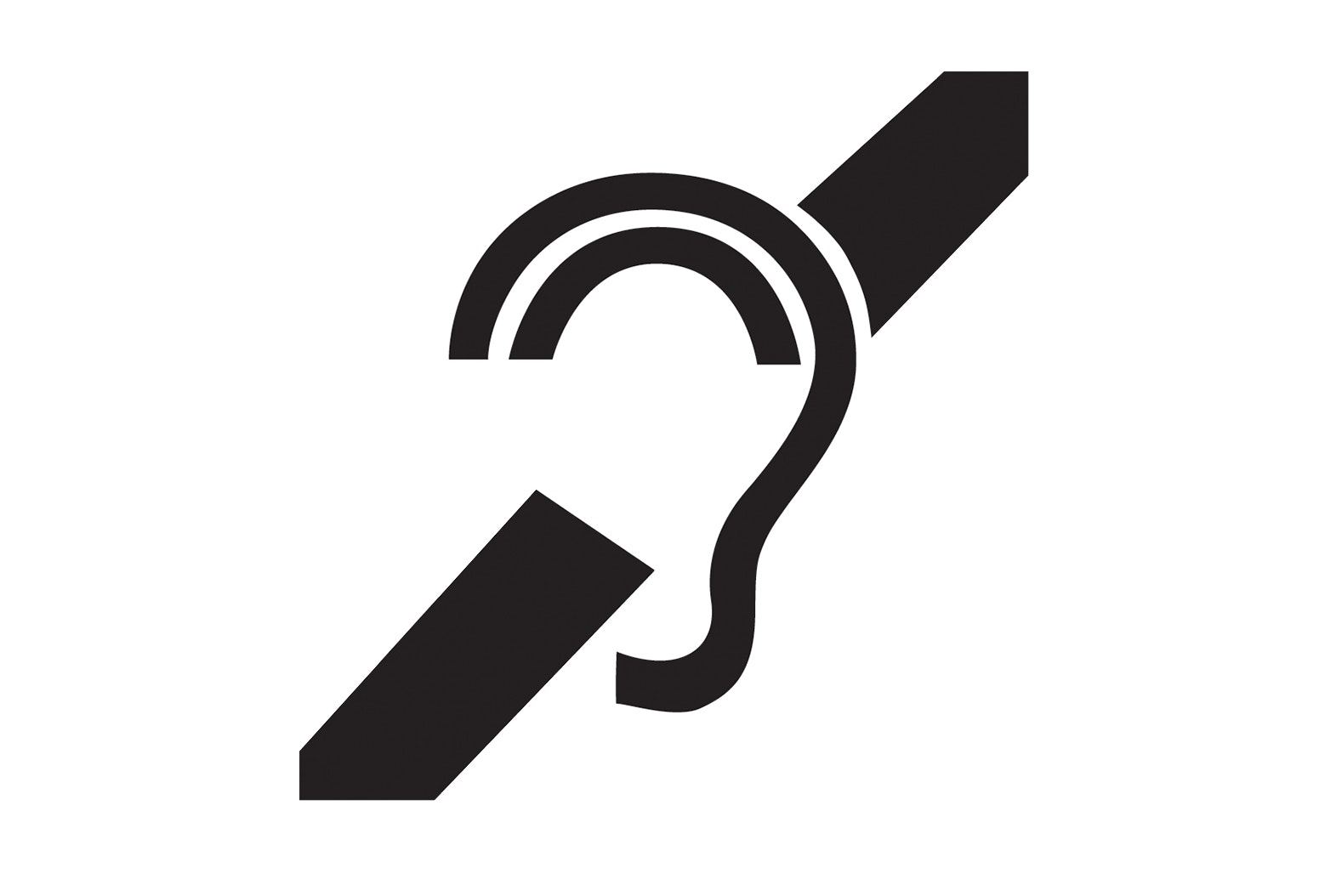 Hearing Loss Accessibility Icon