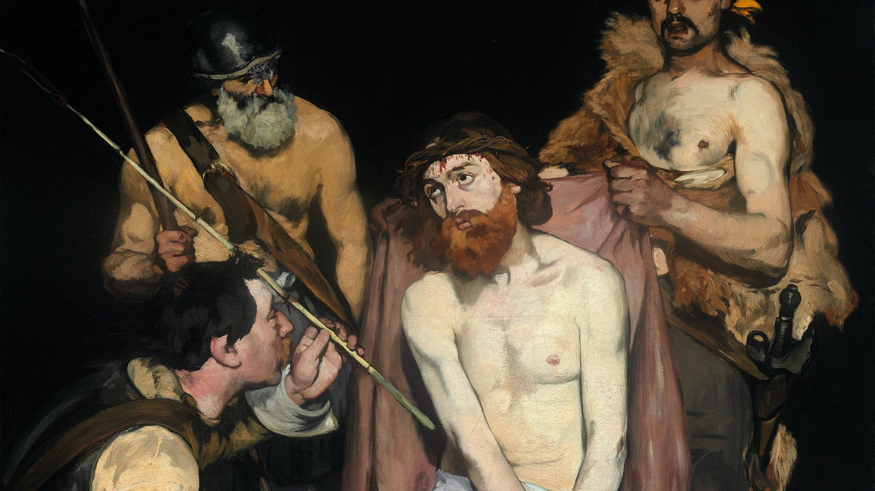 Manet Jesus Mocked