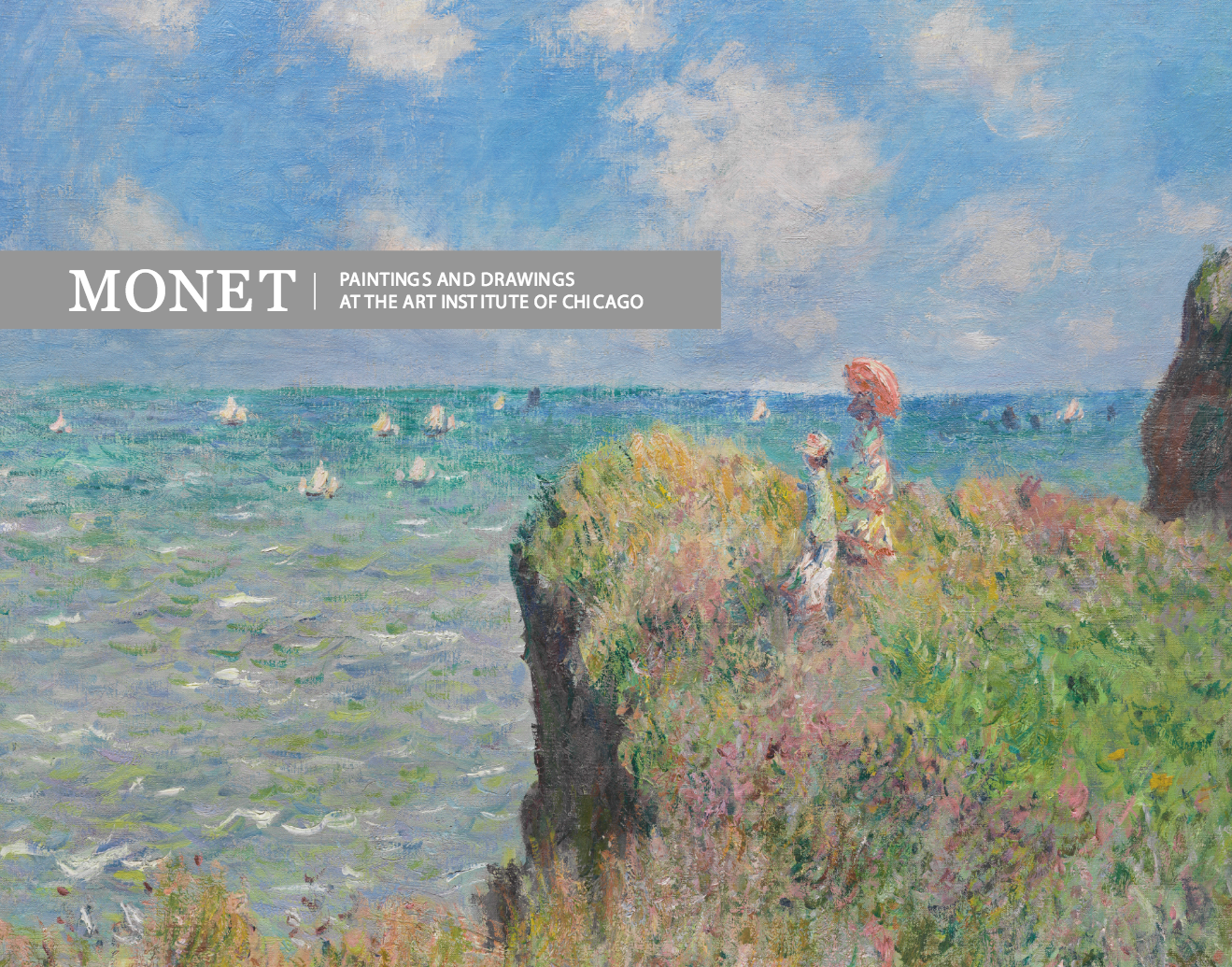 Monet Paintings and Drawings at the Art Institute of Chicago