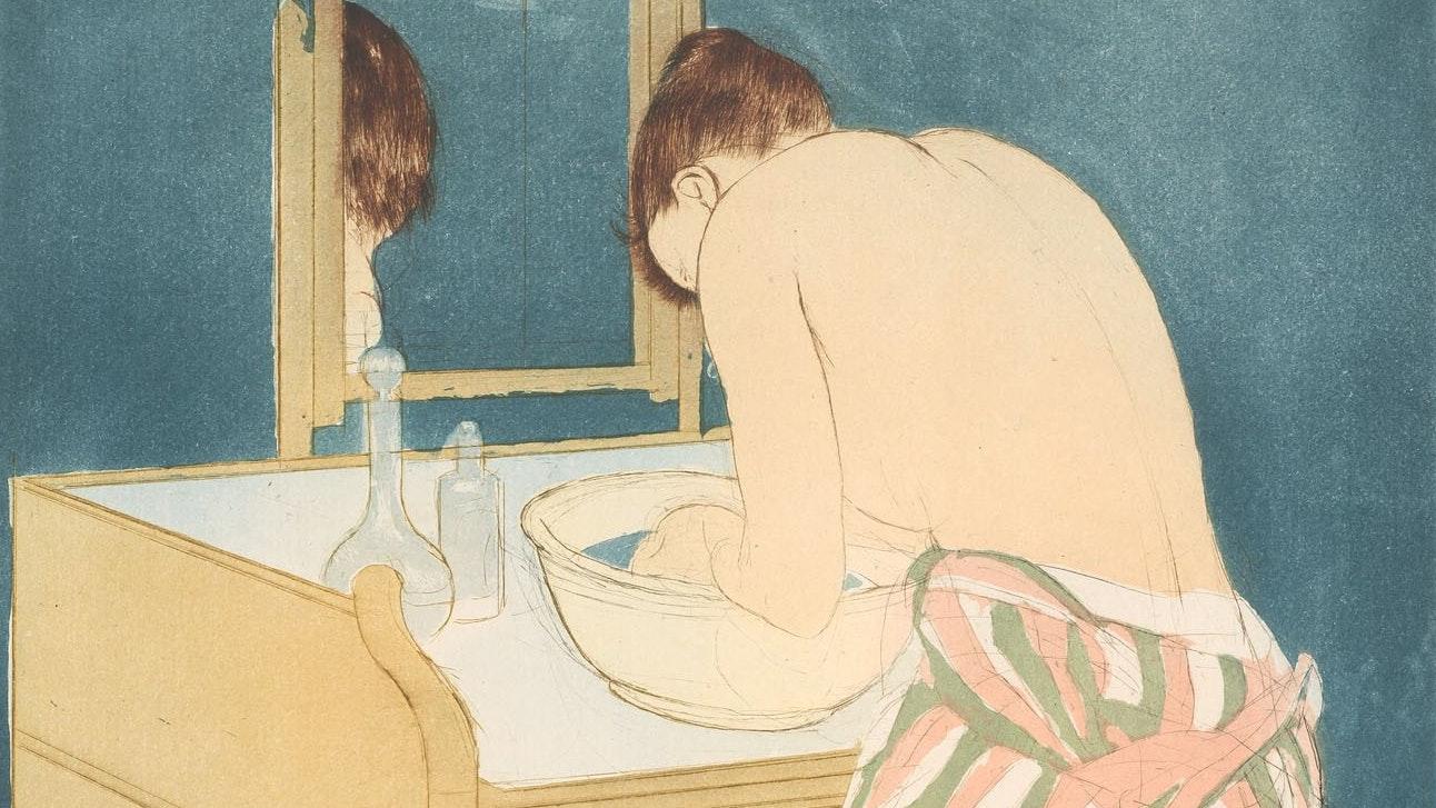 1932.1281 Mary Cassatt Woman Bathing