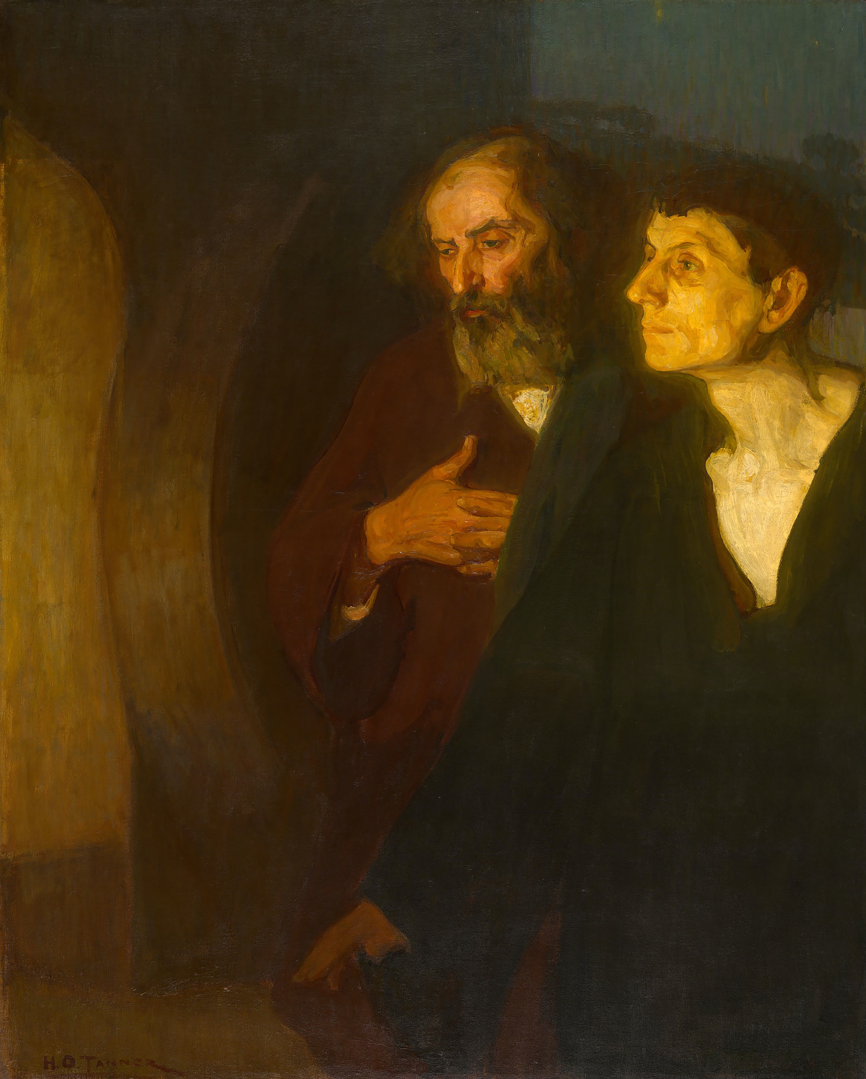 Two Disciples At The Tomb