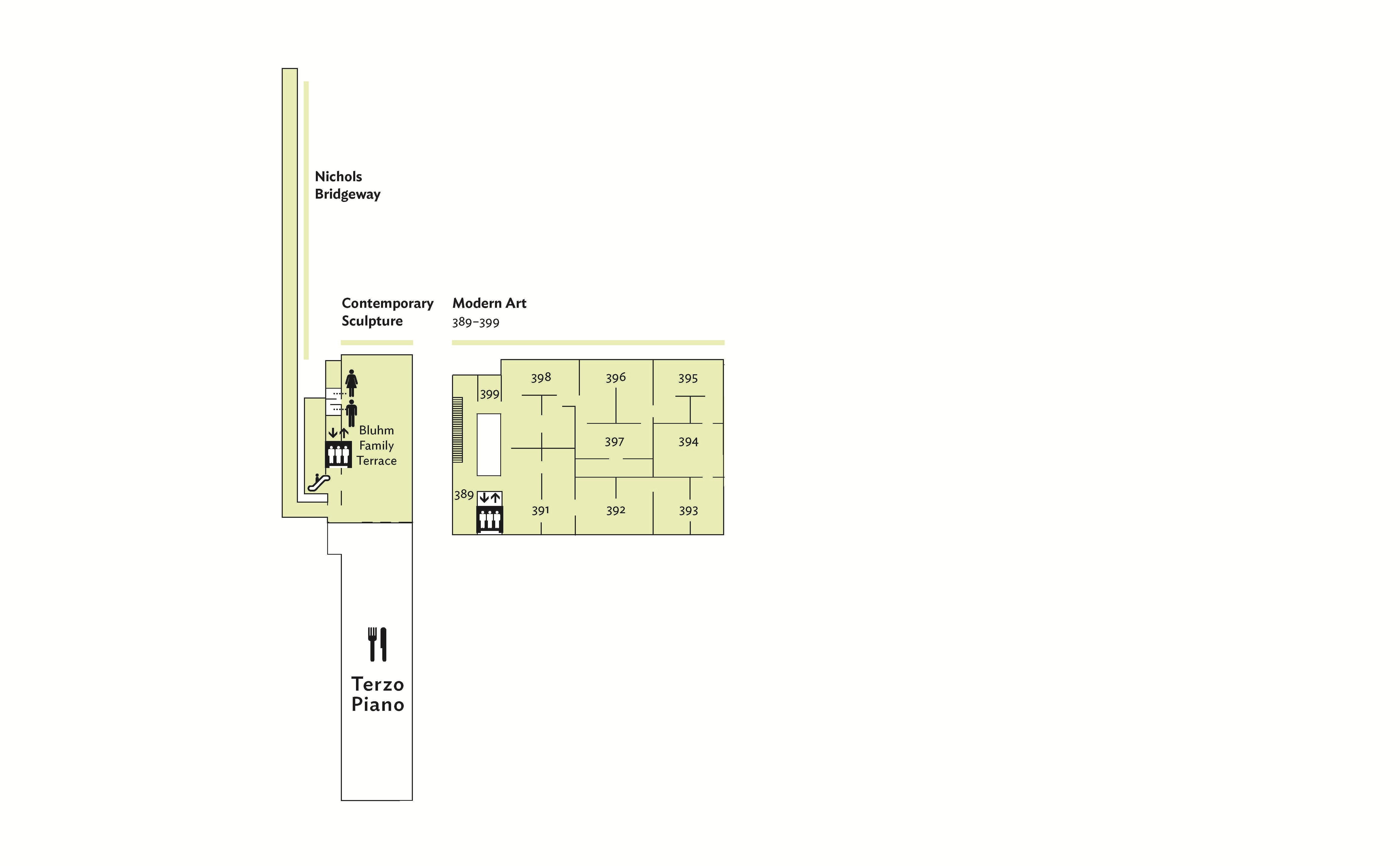 Museum Floor Plan Level 3
