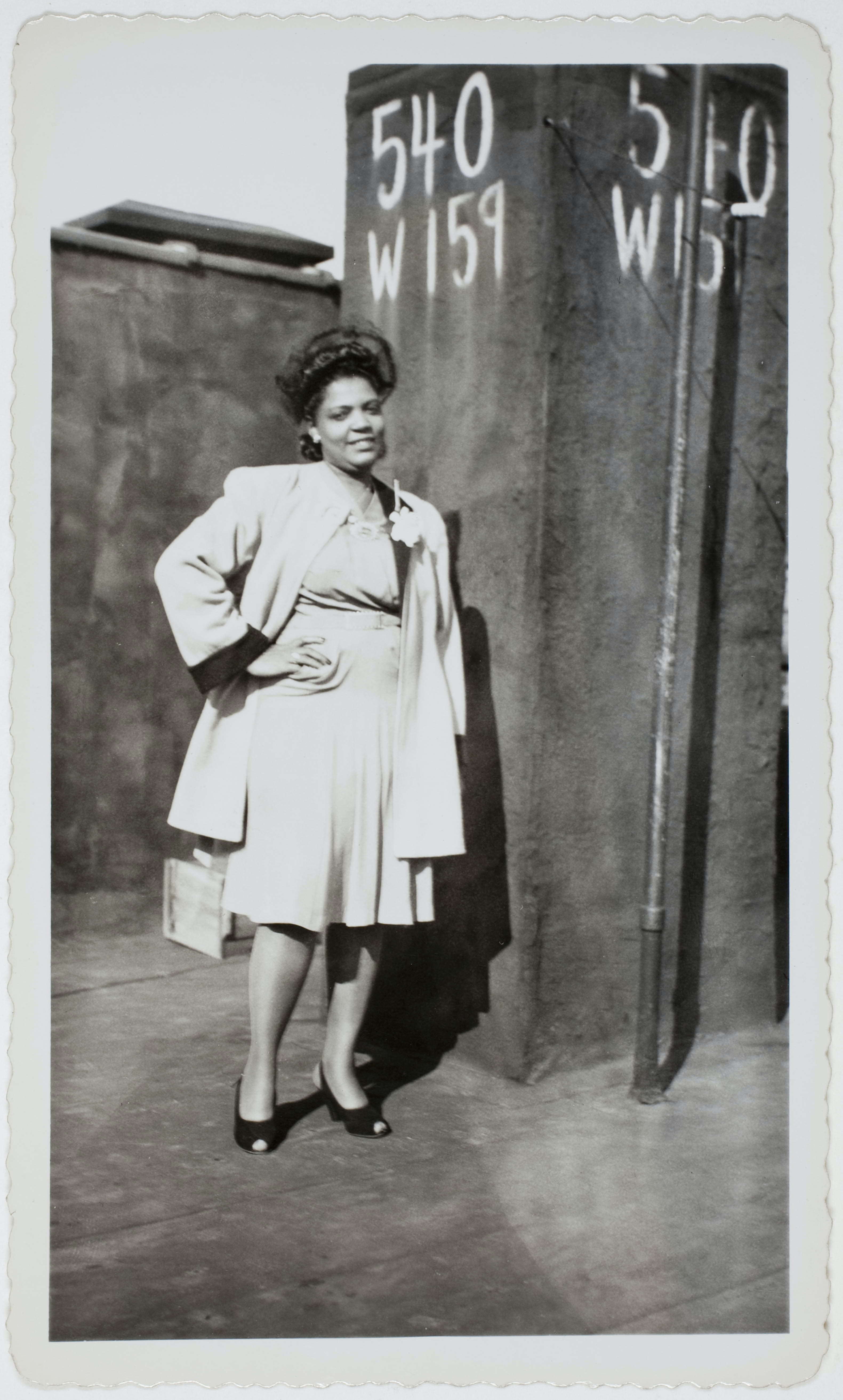 Untitled photograph of black woman from Peter Cohen collection