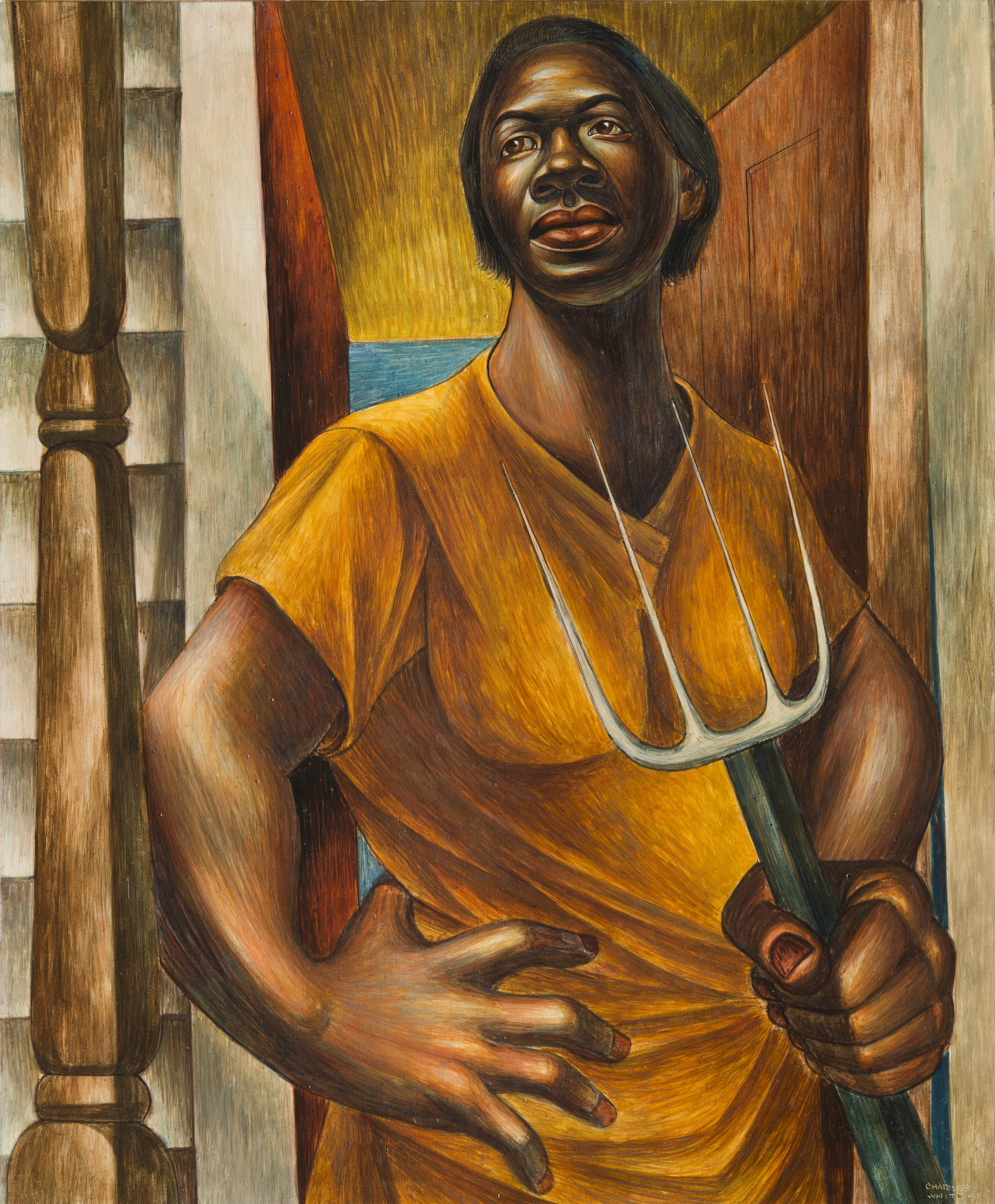 Our Land - Charles White