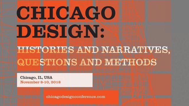 Logo for the Chicago Design symposium