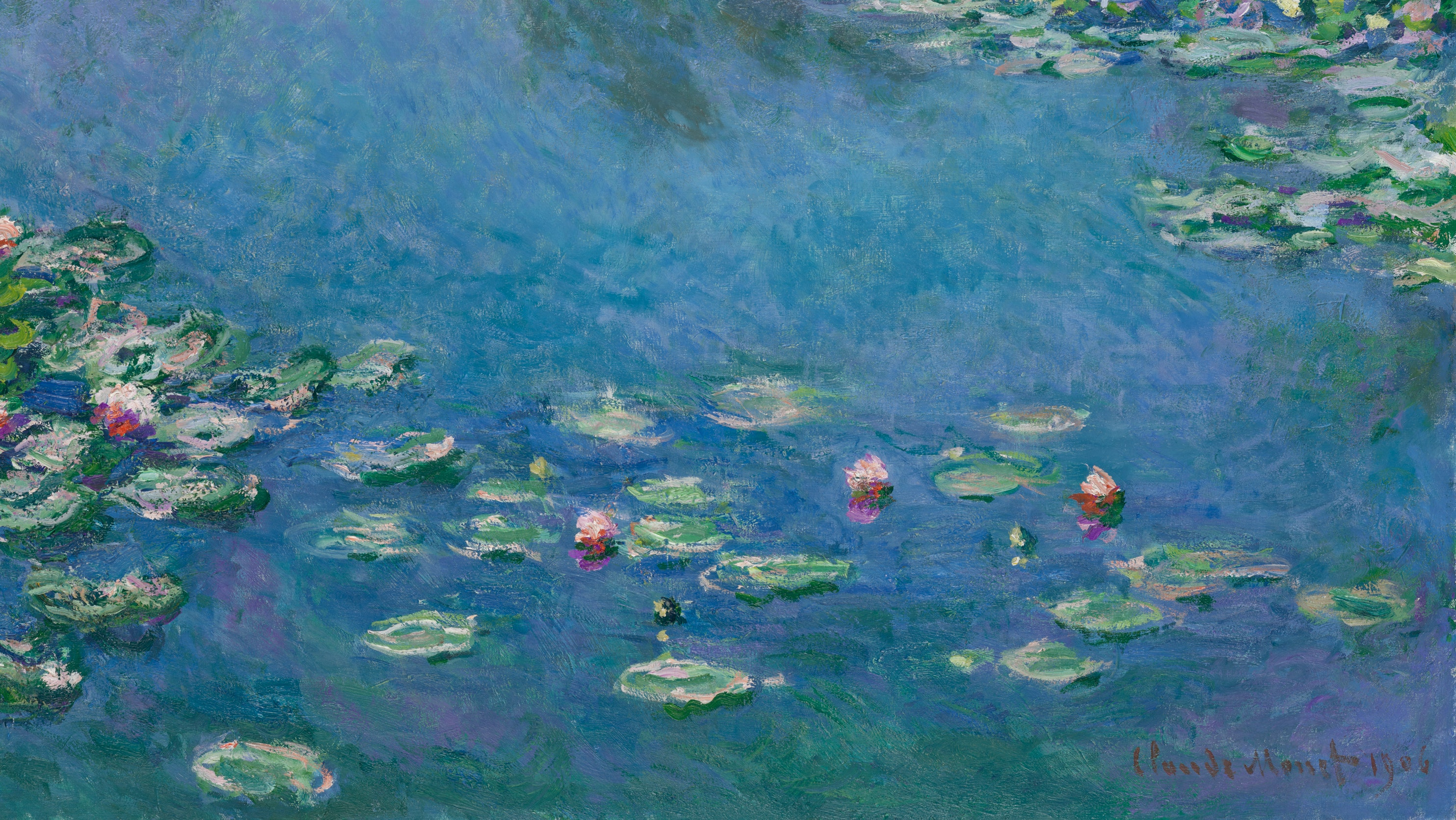 The Real Water Lilies of Giverny